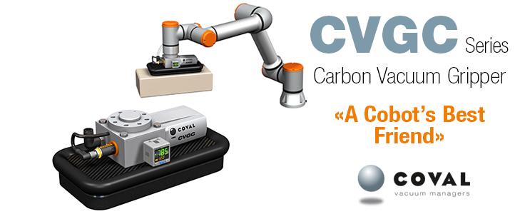 Carbon Vacuum Gripper, CVGC Series COVAL