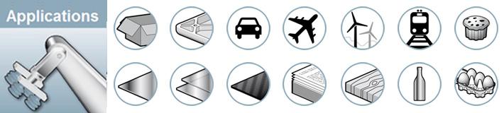 Nous produisons des ventouses industrielles et pompes à vide pour le Packaging, l'emballage, le plastique, l'automobile, l'aéronautique et l'agroalimentaire