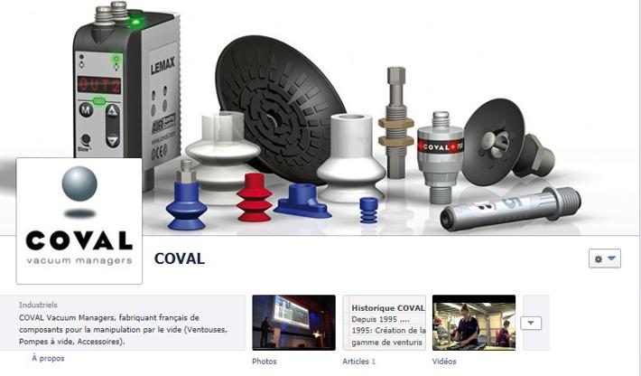COVAL Facebook