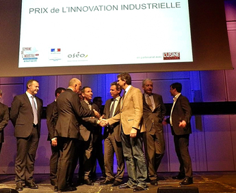 COVAL wins the « LAUREAT FOR INDUSTRIAL INNOVATION » for the Rhone alpes region.