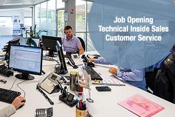 Technical Inside Sales / Customer Service